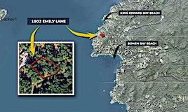 1802 Emily Lane, Bowen Island, BC, V0N 1G2