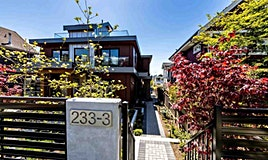 3-233 W 5th Street, North Vancouver, BC