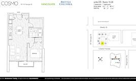 1703-161 W Georgia Street, Vancouver, BC, V6B 0K9