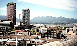 1603-63 Keefer Place, Vancouver, BC, V6B 6N6