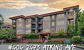 404-2473 Atkins Avenue, Port Coquitlam, BC, V3C 0C4