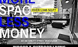 301-618 Abbott Street, Vancouver, BC, V6B 0C1