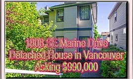 1808 SE Marine Drive, Vancouver, BC, V5P 2R8
