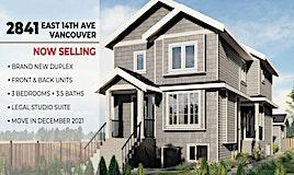 1-2841 E 14th Avenue, Vancouver, BC, V5M 2H8