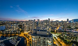 3808-1033 Marinaside Crescent, Vancouver, BC, V6Z 3A3