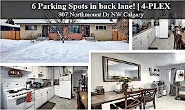 807 Northmount Drive Northwest, Calgary, AB, T2L 0A3