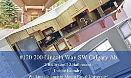 120,-200 Lincoln Way Southwest, Calgary, AB, T3E 7G7