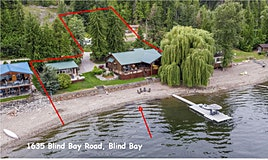 1635 Blind Bay Road, Sorrento, BC, V0E 1H0