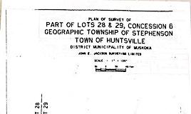 1163 Muskoka 10 Road, Huntsville, ON, P0B 1L0