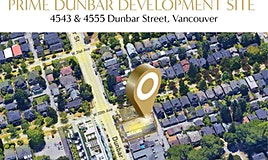 4543-4555 Dunbar Street, Vancouver, BC, V6S 2G7