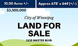 2125 Inkster Boulevard, Winnipeg, MB, R2W 0J3