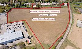 34 AND 70 Potters Road, Tillsonburg, ON, N4G 2G8