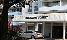 1606-10 Parkway Forest Drive, Toronto, ON, M2J 1L3