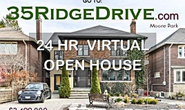 35 Ridge Drive, Toronto, ON, M4T 1B6