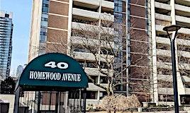 2605-40 Homewood Avenue, Toronto, ON, M4Y 2K2