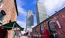 2301-390 Cherry Street, Toronto, ON, M5A 3L7
