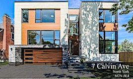 7 Calvin Avenue, Toronto, ON, M2N 5E4