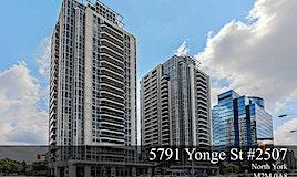 2507-5791 Yonge Street, Toronto, ON, M2M 3T9