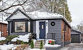161 Coleridge Avenue, Toronto, ON, M4C 4H8
