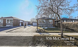 956 Mccowan Road, Toronto, ON, M1P 3H7