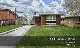 199 Hiscock Boulevard, Toronto, ON, M1G 1V2