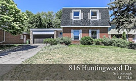 816 Huntingwood Drive, Toronto, ON, M1T 2L6