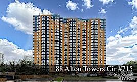 #715-88 Alton Towers Circ, Toronto, ON, M1V 5C5