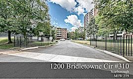 310-1200 Bridletowne Circ, Toronto, ON, M1W 2T9
