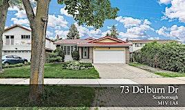 73 Delburn Drive, Toronto, ON, M1V 1A8
