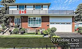 53 Aveline Crescent, Toronto, ON, M1H 2P4