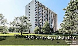 1203-25 Silver Spring Blvd Boulevard, Toronto, ON, M1V 1M9