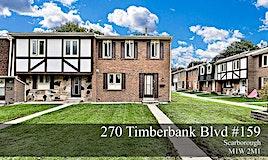 159-270 Timberbank Boulevard, Toronto, ON, M1W 2M1
