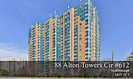 612-88 Alton Towers Circ, Toronto, ON, M1V 5C5