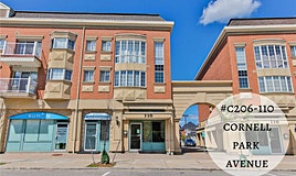 C206-110 Cornell Park Avenue, Markham, ON, L6B 1B6
