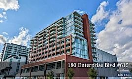 615-180 Enterprise Boulevard, Markham, ON, L6G 0G4