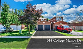 614 College Manor Drive, Newmarket, ON, L3Y 8S2