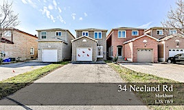 34 Neeland Road, Markham, ON, L3S 1W9