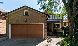 1608 Stancombe Crescent, Mississauga, ON, L5N 4R1