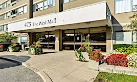 712-475 The West Mall Drive, Toronto, ON, M9C 4Z3