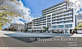 317-591 Sheppard Avenue E, Toronto, ON, M2K 1B4