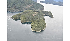 DL 1445 Dent Island, Campbell River Area Small Islands, BC
