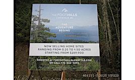 LT 54 Foothills, Nanaimo, BC, V0R 2H0