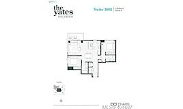 1602-848 Yates Street, Victoria, BC, V8V 3M8