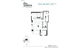 402-848 Yates Street, Victoria, BC, V8V 3M8