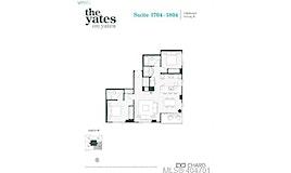 1704-848 Yates Street, Victoria, BC, V8V 3M8